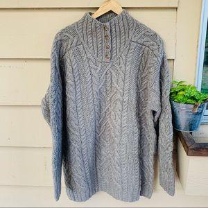 Vintage Wool Knit Cable Ralph Lauren Sweater